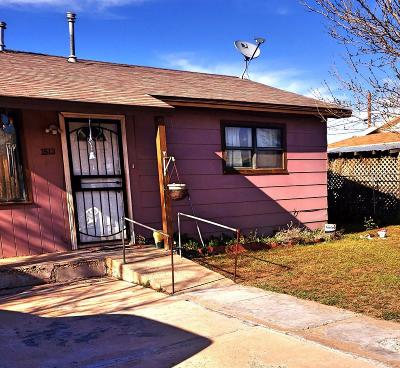 Lubbock County Single Family Home Under Contract: 1512 Bates Street