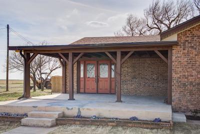 Lubbock Single Family Home Under Contract: 3820 E Farm Road 1729