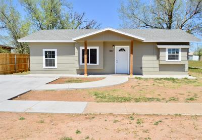 Lubbock County Single Family Home Under Contract: 907 E Rice Street