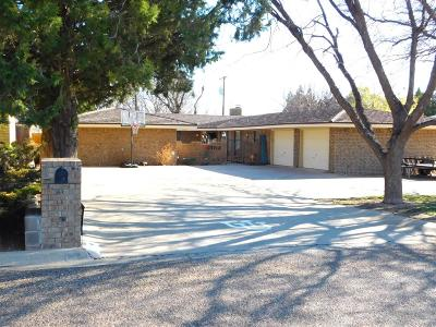 Bailey County, Lamb County Single Family Home For Sale: 1712 W Ave I