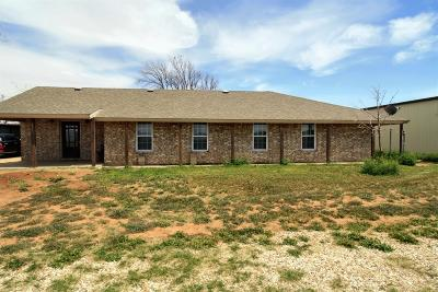 Slaton Single Family Home For Sale: 18603 County Road 3400