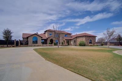 Lubbock TX Single Family Home For Sale: $939,999