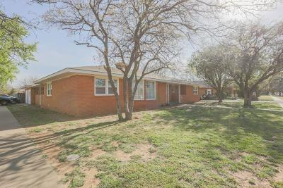 Slaton Single Family Home For Sale: 805 W Lubbock Street