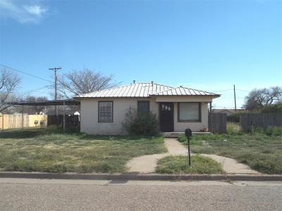 Abernathy Single Family Home For Sale: 1207 14th Street