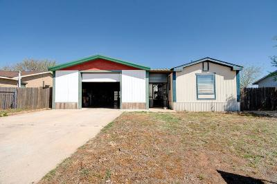 Lubbock County Single Family Home Under Contract: 2602 Cornell Street