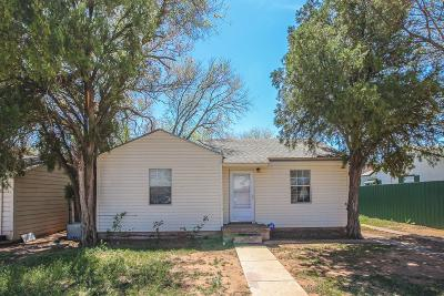 Lubbock County Single Family Home For Sale: 2511 1st Place