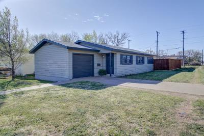 Lubbock County Single Family Home For Sale: 2423 47th Street
