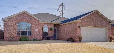 Lubbock TX Single Family Home Under Contract: $239,900