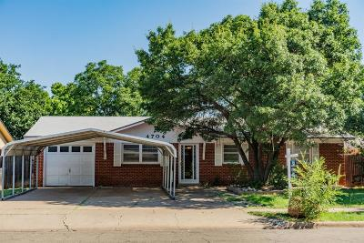 Single Family Home For Sale: 4704 46th Street