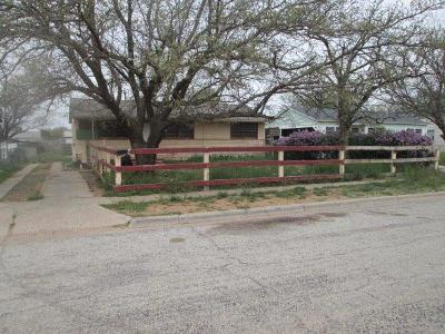 Lubbock County Single Family Home Under Contract: 3009 E 3rd Street