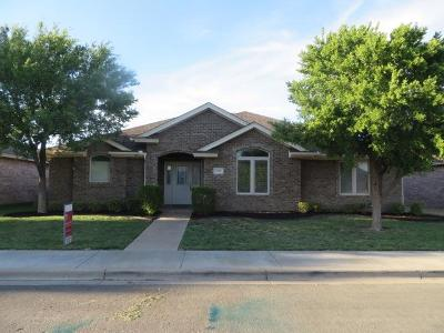 Lubbock Single Family Home For Sale: 3008 109th Street