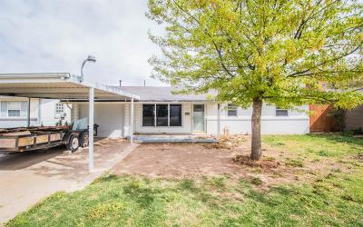 Lubbock County Single Family Home Under Contract: 4304 29th Street