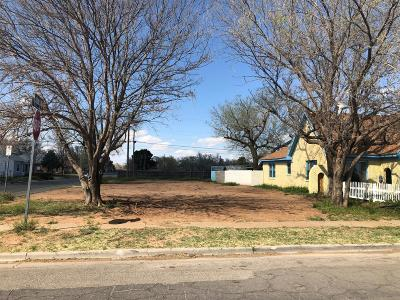 Lubbock County Residential Lots & Land Under Contract: 1724 27th Street