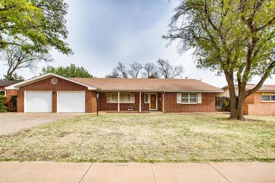 Lubbock Single Family Home For Sale: 3304 40th Street