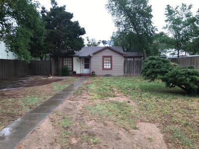 Single Family Home For Sale: 1209 10th Street