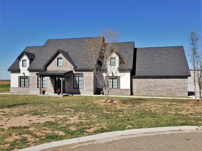 Lubbock Single Family Home For Sale: 6701 N County Road 2160