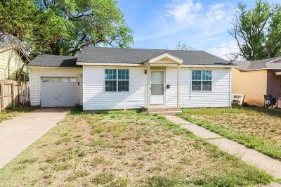 Bailey County, Lamb County Single Family Home For Sale: 705 E 15th Street