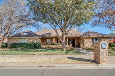 Lubbock Single Family Home Under Contract: 4206 94th Street