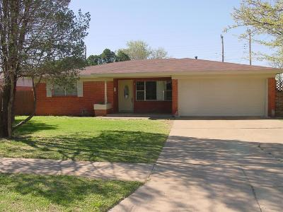 Lubbock Single Family Home For Sale: 2723 61st Street
