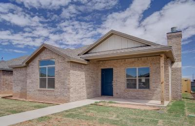 Lubbock TX Garden Home Under Contract: $189,900