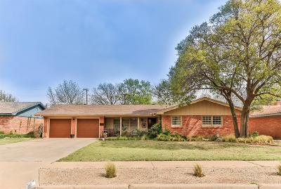 Lubbock Single Family Home For Sale: 3414 59th Street