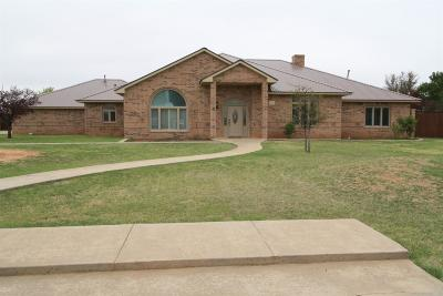 Lubbock Single Family Home For Sale: 15414 County Road 1860