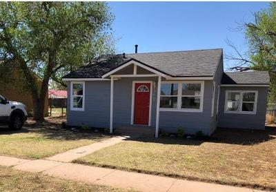 Lubbock County Single Family Home For Sale: 2607 1st Street