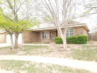 Lubbock Single Family Home For Sale: 5737 96th Street