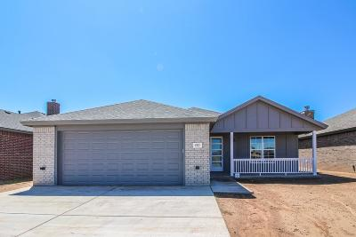 Lubbock Single Family Home For Sale: 6953 22nd Place