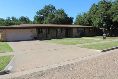 Lubbock Single Family Home For Sale: 4502 22nd Street