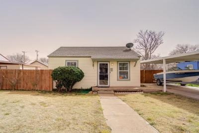 Lubbock Single Family Home For Sale: 2009 39th Street