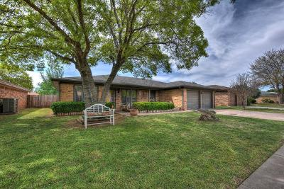 Lubbock Single Family Home Under Contract: 5407 95th Street