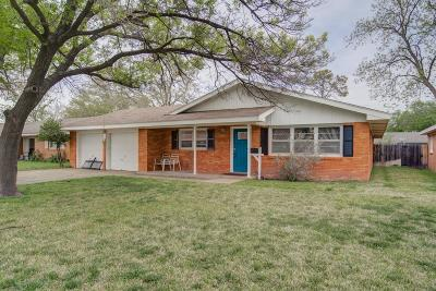 Lubbock Single Family Home For Sale: 4708 48th Street