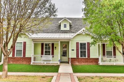 Lubbock Townhouse For Sale: 2120 10th Street