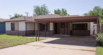Lubbock Single Family Home For Sale: 2007 48th Street