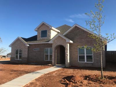 Lubbock Single Family Home For Sale: 6955 102nd