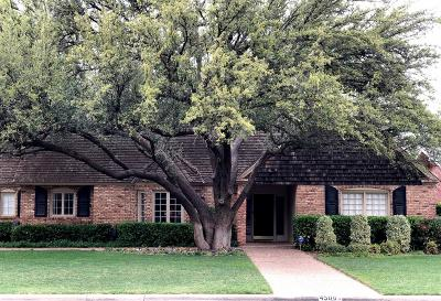 Lubbock Single Family Home Under Contract: 4508 13th Street