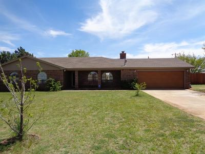 Lubbock Single Family Home Under Contract: 1519 Woodrow Road