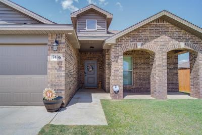 Lubbock Single Family Home For Sale: 7436 103rd Street