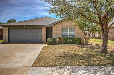 Lubbock Single Family Home Under Contract: 2105 86th Street