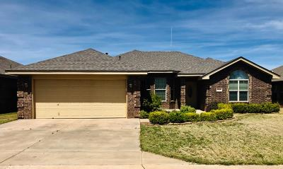 Lubbock Single Family Home For Sale: 5518 105th Street