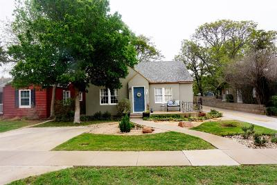 Lubbock Single Family Home Under Contract: 2516 22nd Street