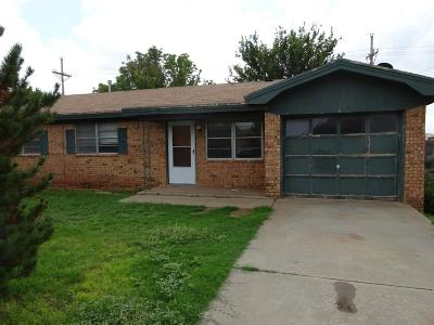 Wolfforth Rental For Rent: 845 9th Street