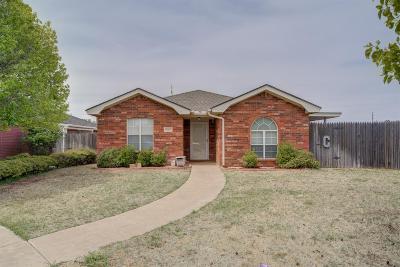 Lubbock Single Family Home For Sale: 8302 Dixon Avenue