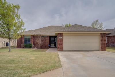 Lubbock Single Family Home For Sale: 5903 101st Place