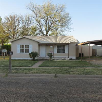 Bailey County, Lamb County Single Family Home For Sale: 1009 W 9th Street