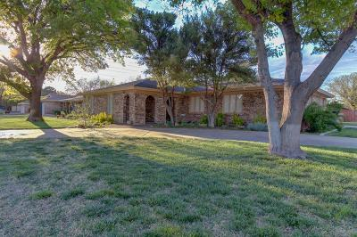 Lubbock Single Family Home For Sale: 2902 75th Street