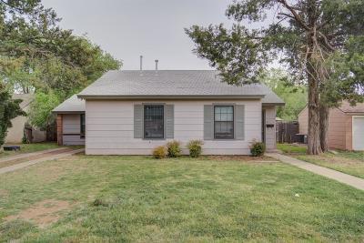 Lubbock Single Family Home For Sale: 3418 31st Street