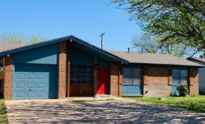 Lubbock Single Family Home Under Contract: 1906 74th Street