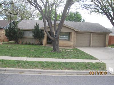 Lubbock Single Family Home Under Contract: 4409 60th Street